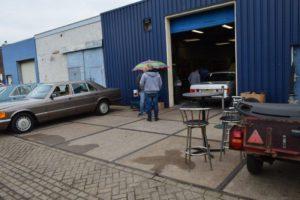 De S-Klasseclub in... Terkaple-Nieuws Mercedes-Benz S-Klasse Club Nederland 02