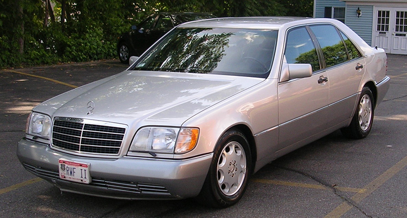 W140 sedan Mercedes-Benz S-Klasse Club Nederland