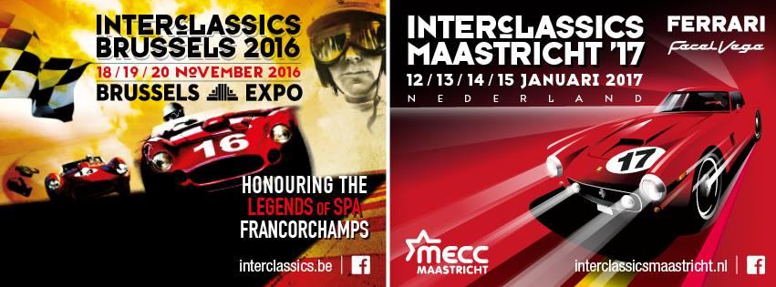 InterClassics Maastricht 2017 MB S-Klasse Club Nederland jaaragenda 2017
