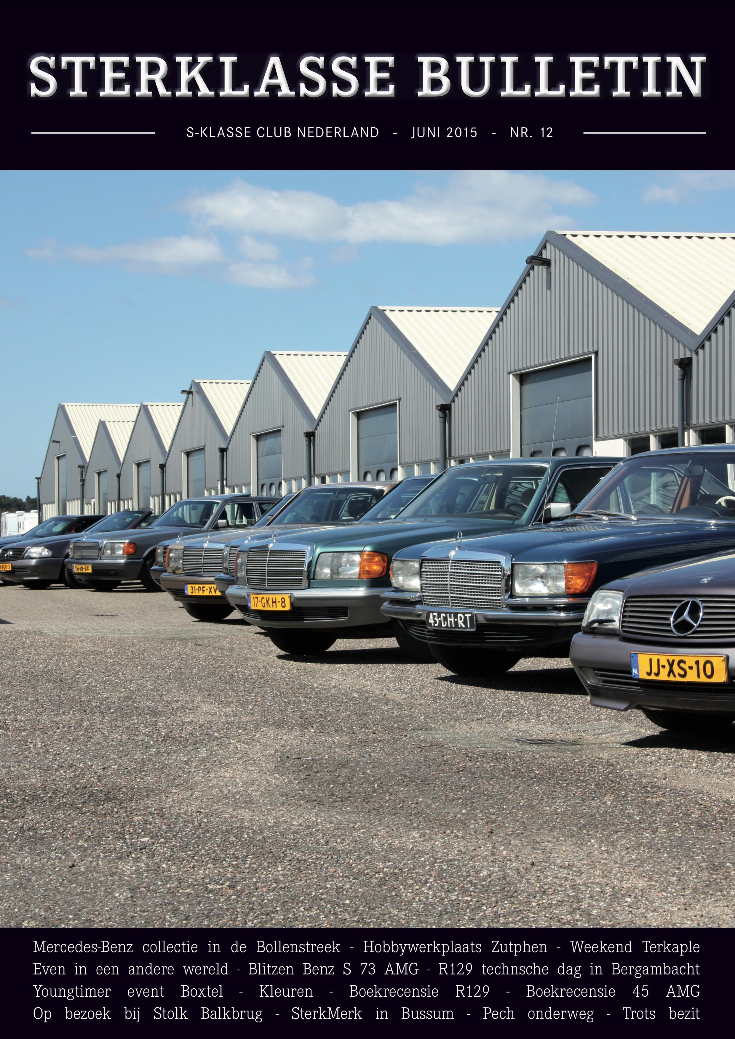 Sterklasse Bulletin 12 SKCN Mercedes-Benz-S-Klasse Club Nederland