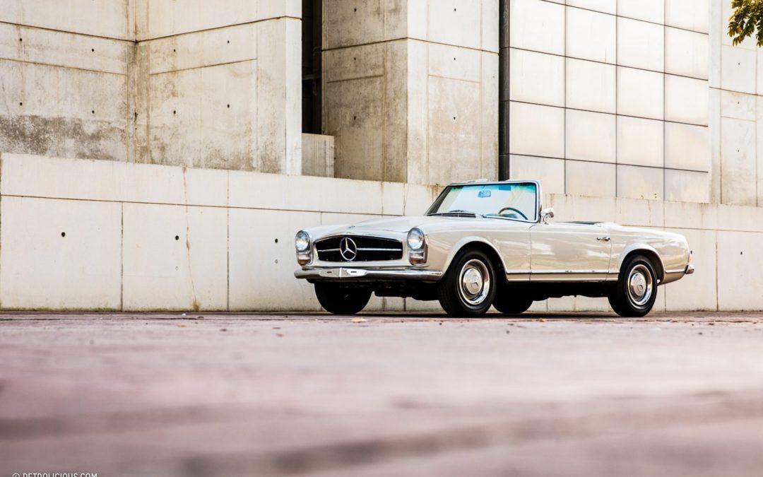 50 jaar in de familie: Mercedes-Benz 230SL