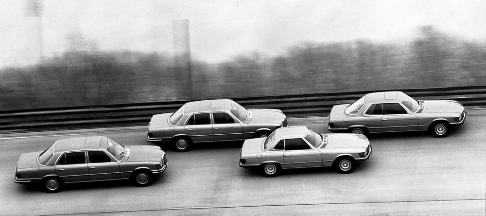 1972 introductie W116