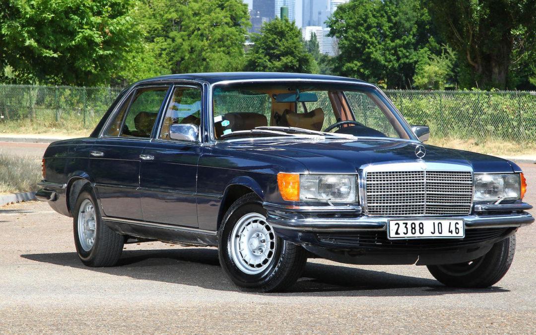 45 jaar geleden: 450 SEL Europees auto van het jaar.