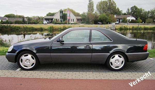 Te koop W140 Coupé CL 500 1993 Blauwzwart-Advertentie Mercedes-Benz S-Klasse Club Nederland