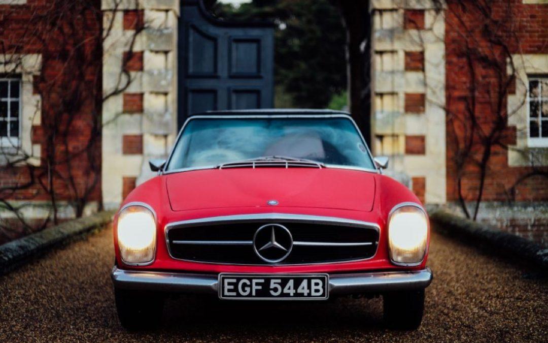 800 mijl op een Mercedes-Benz 230 SL W113