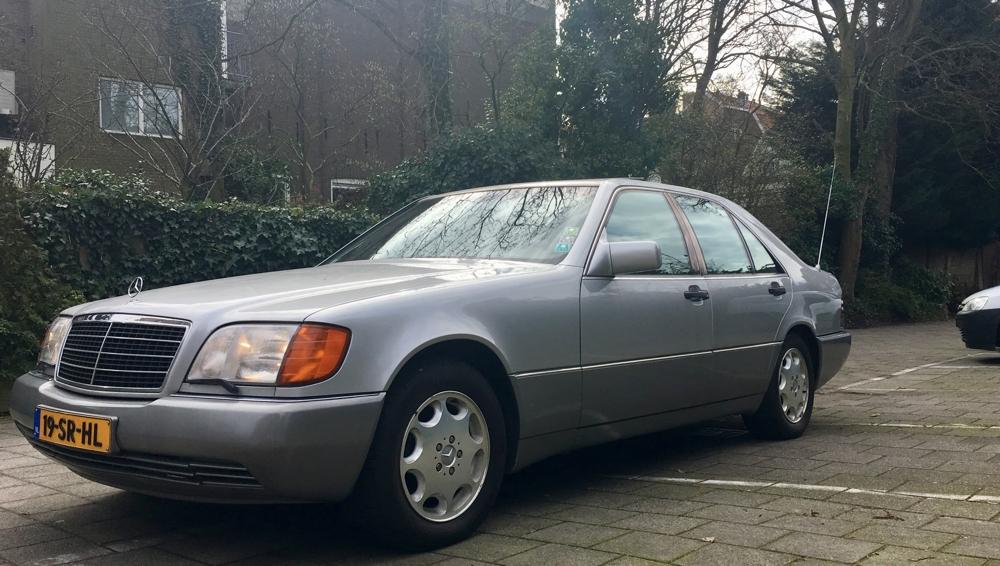 TE KOOP – Mercedes W140 300 SE 3.2 U9